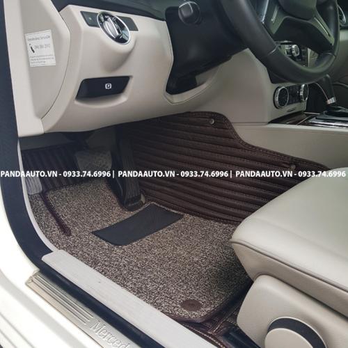 Thảm 6D Mercedes C200 C250 ghế lái